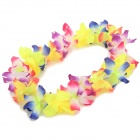 Hawaii Style Flower Garland for Christmas Decoration - Yellow + Multi-Color