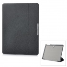 Protective Auto Sleep Case w/ Magnetic Closure + Folding Stand for Samsung Tab S 10.5 / T800 - Black
