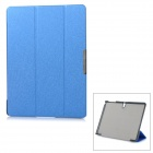 Protective Auto Sleep Case w/ Magnetic Closure + Folding Stand for Samsung Tab S 10.5 / T800 - Blue