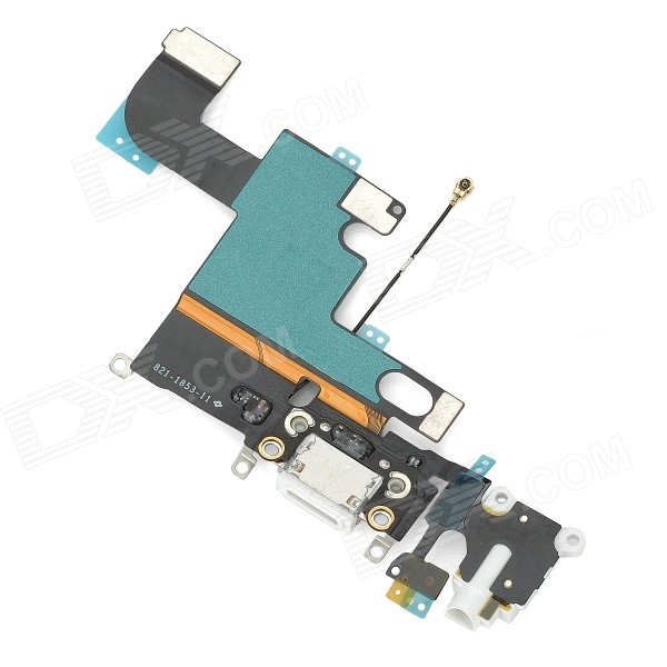 Replacement Charging Tail Plug Connector Flex Cable for IPHONE 6 4.7 - Black + Blue + Multi-Colored replacement charging tail plug connector flex cable for iphone 6 4 7 black blue multi colored