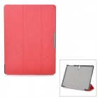Protective Auto Sleep Case w/ Magnetic Closure + Folding Stand for Samsung Tab S 10.5 / T800 - Red