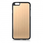 "Bluestar Protective PC + Aluminum Alloy Back Case Cover for IPHONE 6 4.7"" - Golden + Black"