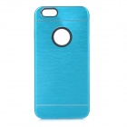 Protective Plastic + Aluminum Alloy Back Case Cover for IPHONE 6 - Blue
