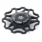 AEST YPU09A14 Bike Bicycle Ultra Light 11T Aluminum Alloy Wheels Rear Derailleur Pulley - Black