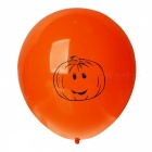 Halloween Pumpkin Style LED Luminous Balloons - Orange (4 PCS / 2 x AG3)