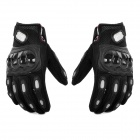PRO MCS15 Motorcycle Racing Full-Finger Protection Gloves - Black (L / Pair)