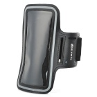"Sunshine Protective PVC + Nylon Velcro Sports Armband Pouch Case for IPHONE 6 PLUS 5.5"" - Black"