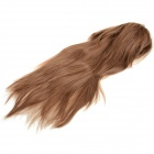 1192A 27/30 Women's Fashion Tilted Frisette Long Straight Wig - Golden Brown