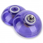 AODA Cool Plastic YO-YO Toy - Translucent Blue