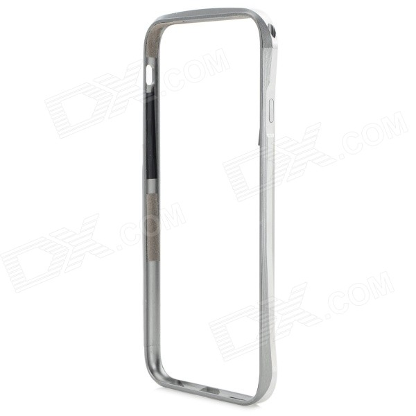 Fashion Protective Aluminum Alloy Bumper Frame for IPHONE 6 4.7 - Silver qqv6 aluminum alloy 11 blade cooling fan for graphics card silver 12cm