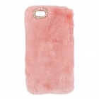 "Sweet Soft Simulation Cony Hair Cover Protective Case for IPHONE 6 4.7"" - Pink"