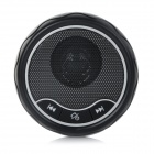 Portable Car Bluetooth V3.0 Hands-free Speaker Phone w/ USB Cable / Car Charger / Clip - Black