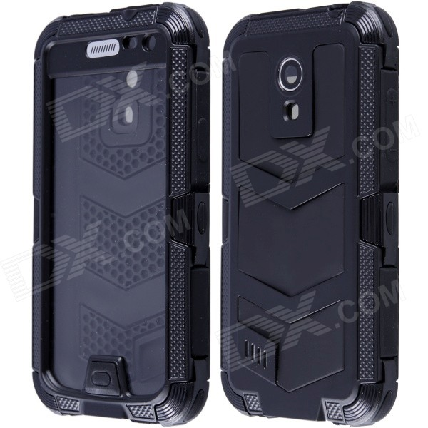 Redpepper Waterproof Shockproof Dirtproof Aluminum Alloy Case for Samsung Galaxy S4 MINI - Black