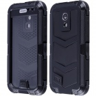 Redpepper Case Shockproof Dirtproof Aluminum Alloy Case for Samsung Galaxy S4 MINI - Black