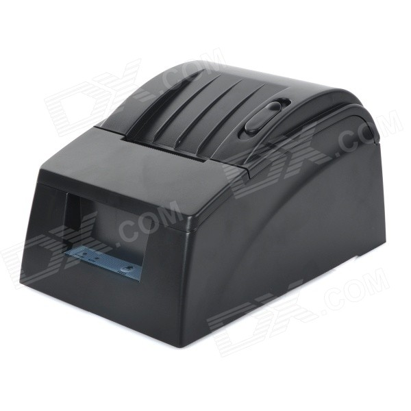 TBP FT-T-5890G POS Thermal Dot Receipt Printer w/ USB Cable / Power Supply - Black 2017 new lpq80 thermal printer unique personality pos printer high quality 58mm thermal receipt printer printing speed fast