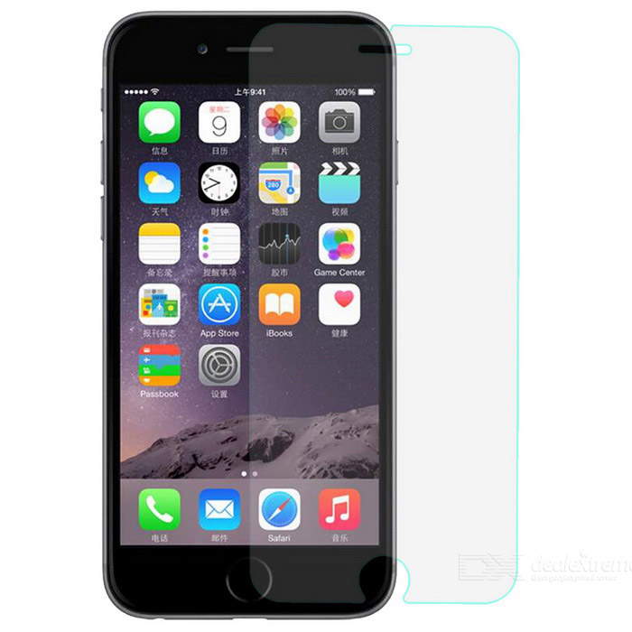 "T0001 0.2mm Protective Tempered Glass Screen Protector for IPHONE 6 4.7"" / 6S - White"