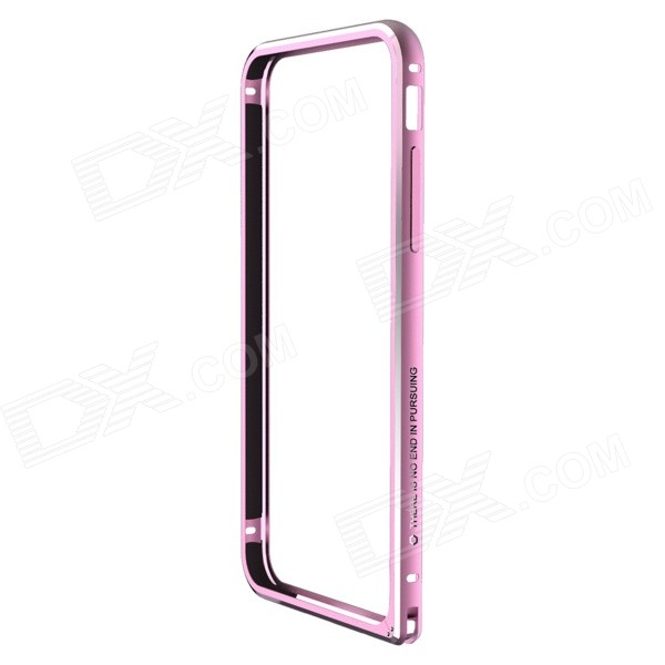 NILLKIN Gothic Series Ultra-Slim Aluminum Alloy Bumper Frame Case for IPHONE 6 - Pink nillkin gothic series ultra slim aluminum alloy bumper frame case for iphone 6 silver