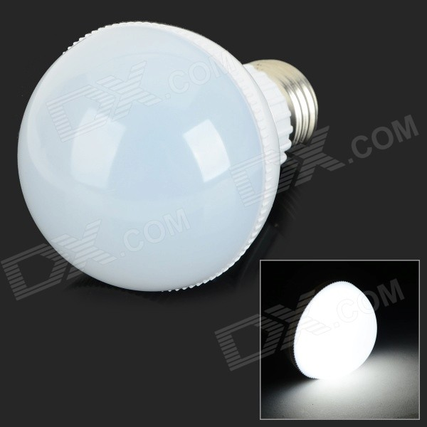 G-005 E27 5W 400lm 6000K 10-SMD 5730 LED White Light Bulb - White (AC 85~265V)