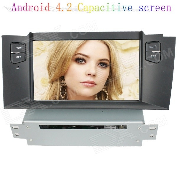 цена на LsqSTAR 7 Capacitive Screen Android4.2 Car DVD Player w/ GPS WiFi SWC BT Canbus AUX for Citroen C4L