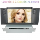 "LsqSTAR 7"" Capacitive Screen Android4.2 Car DVD Player w/ GPS WiFi SWC BT Canbus AUX for Citroen C4L"