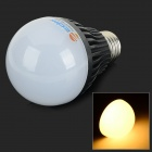 ZDM E27 7W 600lm 3500K 14-SMD LED 5730 Warm White Light Bulb - Schwarz + Silber (AC 85 ~ 265V)