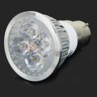 JRLED B22 4W 360lm 3300K 4-LED Warm White Spotlight Bulb - Silver + White (AC 85~265V)
