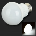 E27 3W 280lm 6000K 6-SMD 5730 LED White Light Bulb - White (AC 85~265V)