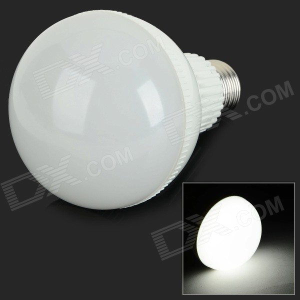 G-009 E27 9W 750lm 6000K 18-SMD 5730 LED White Light Bulb - White (AC 85~265V)