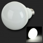 E27 9W 750lm 18-SMD 5730 LED Cold White Light Bulb - White (AC85~265V)