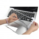 OUSHINE protectora reposamuñecas + Trackpad Sticker Film Set para Macbook 13.3 pulgadas Retina Pro - plata