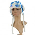 Children's Army Style Cute Winter Wear Cap - Blue