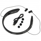 Cannice Y2 Sports Bluetooth V4.0 Headband Headphone w/ Microphone - Black