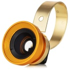 Universal Magnetic 180-Degree Fish Eye Wide Angle Lens for Cell Phone - Gold