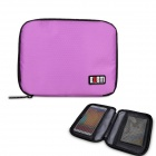 BUBM Multi-purpose Carrying Storage Bag / Cell Phone Pocket / Power Bag - Purple