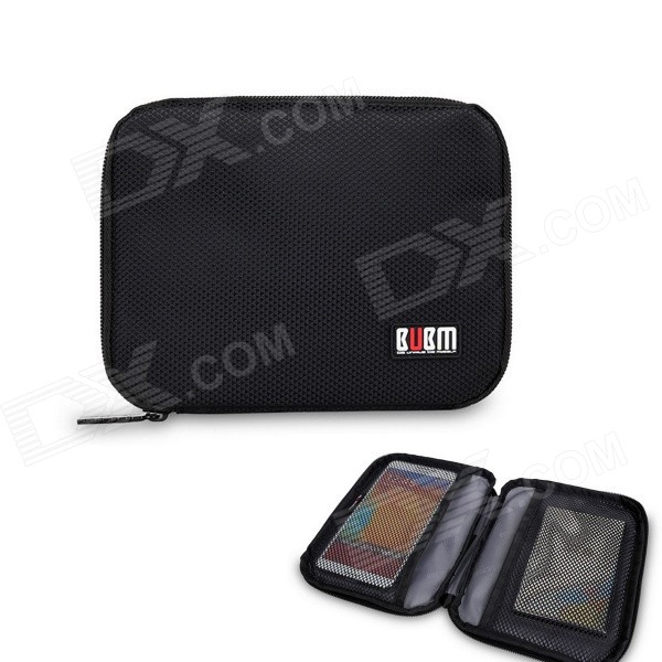 BUBM Multi-purpose Carrying Storage Bag / Cell Phone Pocket / Power Bag - Black universal nylon cell phone holster blue black size l