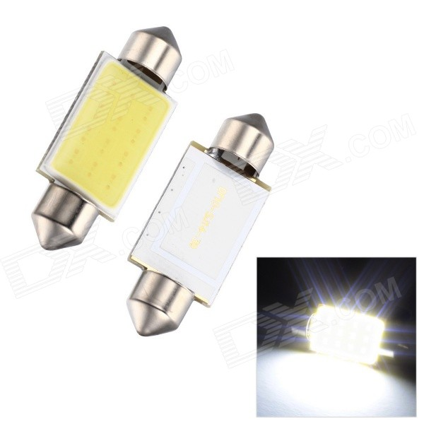 Merida Festoon 39mm 2W 110lm 6000K White Light COB LED Auto Reading / Katto Lamppu (12V / 2 PCS)