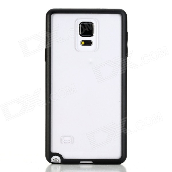 ROCK Enchanting Series Protective PC + TPU Back Shell w/ Soft Edging Case for Samsung Galaxy Note 4 2 in 1 detachable protective tpu pc back case cover for samsung galaxy note 4 black