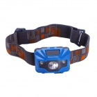 Naturehike 122lm 4-Mode White Light 3-LED Waterproof Outdoor Headlamp - Blue + Grey (3 x AAA)