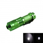 KINFIRE SK88 150lm 3-Mode White Zooming LED Flashlight - Green (1 x AA / 14500)