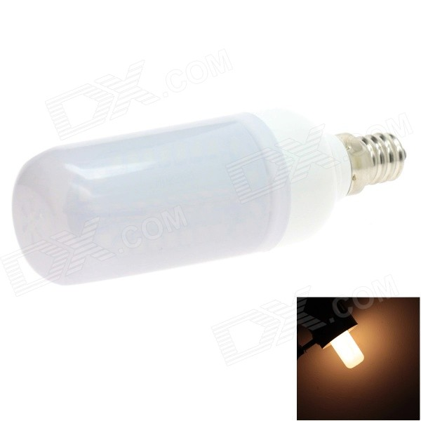 HONSCO E12 5W 400lm 84-SMD 2835 LED 3000K Warm White Light Frosted Cover Corn Bulb (AC 85~265V)