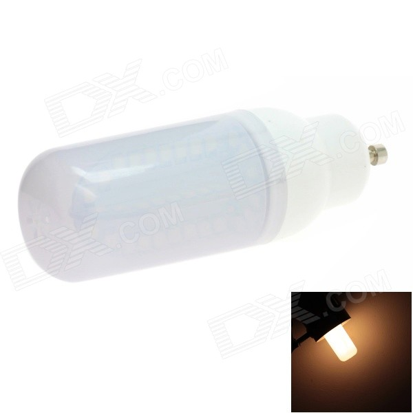 HONSCO GU10 5W 400lm 84-SMD 2835 LED 3000K Warm White Light Frosted Cover Corn Bulb (AC 85~265V) honsco e27 5w 400lm 3000k 84 smd 2835 led warm white light bulb white silver ac 85 265v