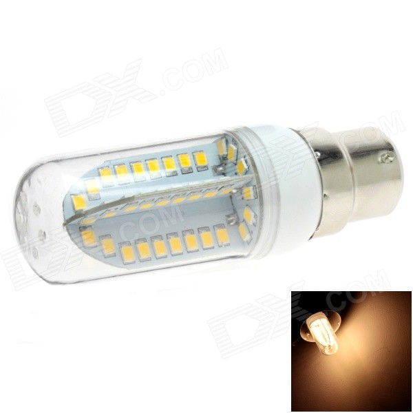 HONSCO B22 5W 400lm 84-SMD 2835 LED 3000K Warm White Light Corn Bulb (AC 85~265V)
