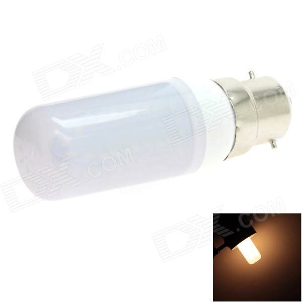 HONSCO B22 5W 400lm 84-SMD 2835 LED 3000K Warm White Light Frosted Cover Corn Bulb (AC 85~265V)