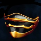 MM116 Halloween Cosplay Resin Face Mask - Golden + Black