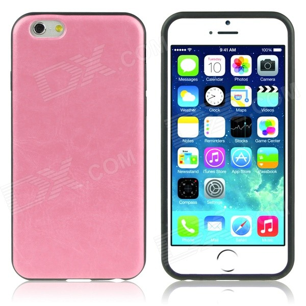 ENKAY Protective Soft Back Cover Case for IPHONE 6 PLUS 5.5 - Pink protective silicone soft back case cover for iphone 5 white