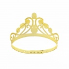 Queen ja King tyyli puolue Cosplay Headwears - Golden (2 kpl)