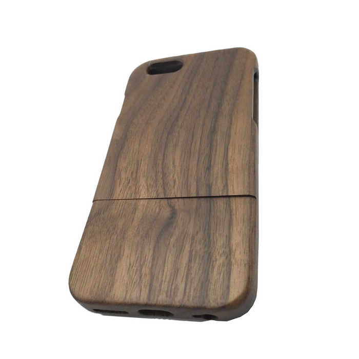 Protective Walnut Wood Back Cover Case for IPHONE 6 4.7