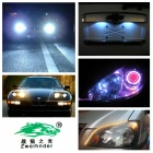Zweihnder  T15 5W 450lm 700nm Red Light LED Car Brake Lights - Silver + White (12~24V, 2 PCS)