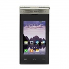 "Otium Android 4.2 Dual-core GSM Phone w/ 3"" Dual Screen, Wi-Fi, Bluetooth, Quad-band, 4GB ROM-Silver"