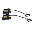 H8 55W 3158lm 3000K Golden Yellow Car HID Xenon Lamps w/ Ballasts Kit (Pair / 13.2V)